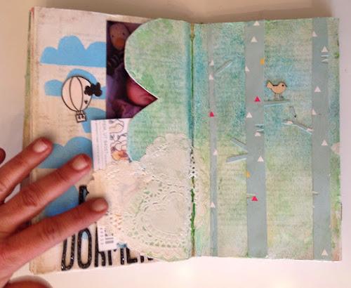 Libro alterado scrap
