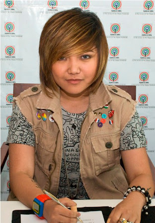 05/14/12 - 'The X Factor Philippines' Contract Signing - ELJ Building, ABS-CBN Compound, Philippines Charice+Pempengco