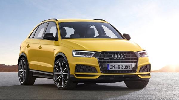 Audi Q3 facelift front