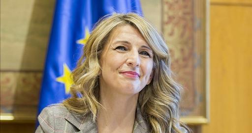 Vicepresidenta Yolanda Díaz