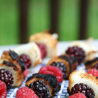 Grilled Angel Berry Skewers