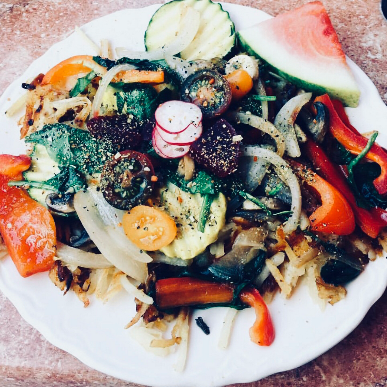 Posted On Jul 22 2018 Veggie Hash