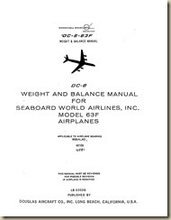 Douglas DC-8 Weight and Balance Manual_01