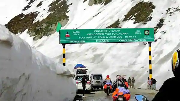 Zojila Pass. Photo: Hindustan Times