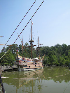 Replica of the Susan Constant at the Jamestown Settlement