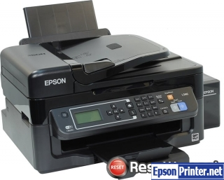 How to reset Epson L566 printer