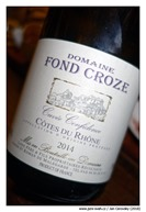 fond-croze-Cuvée-Confidence-Côte-du-Rhône-2014