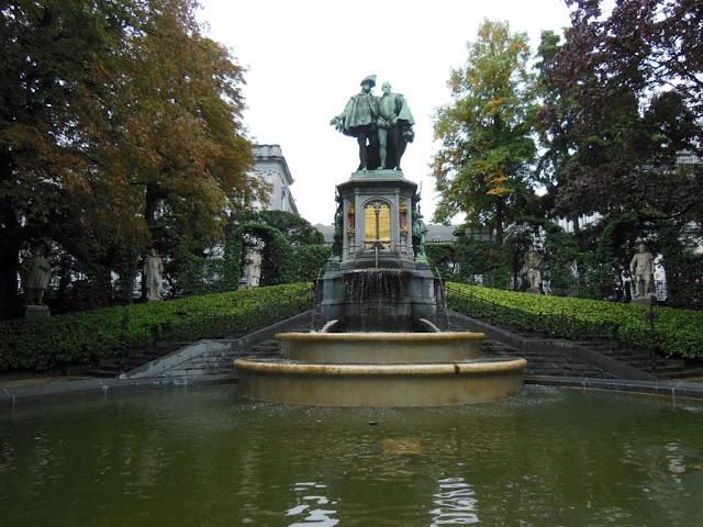 Parc du Palais d'Egmont