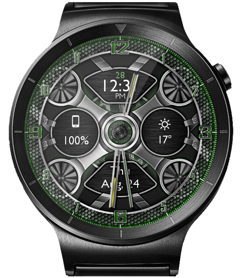 Mesh Gears HD Watch Face- screenshot