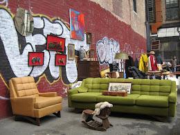 New York flea market.