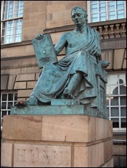 Statue of David Hume by Alexander Stoddart