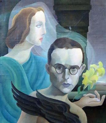 portrait d'Uuno Kailas par Arvid Broms           (1910-1968), 1947, Heinolan kaupunginmuseo