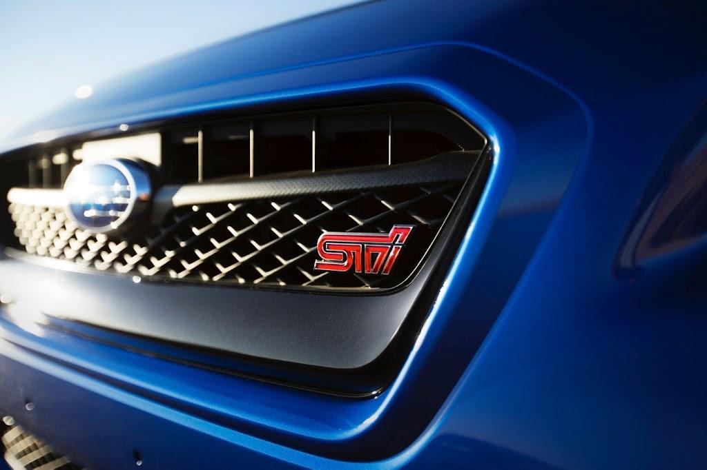 2015 Subaru WRX STI Launch Edition grille