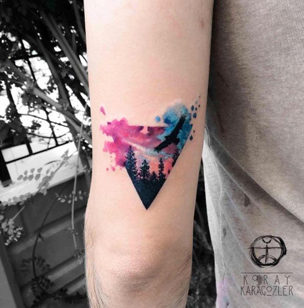Este triângulo floresta