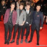 WWW.ENTSIMAGES.COM -    Union J    at      The Hunger Games - Mockingjay - part 1 - UK film premiere at Odeon Leicester Square, London November 10th 2014Premiere of latest film in the Hunger Games franchise, which this time sees Katniss lead a rebellion against the tyrannical and corrupt Capitol.                                              Photo Mobis Photos/OIC 0203 174 1069