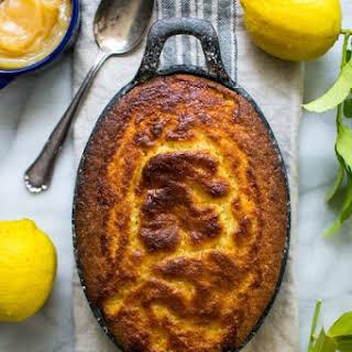 Lemon Curd Pudding.