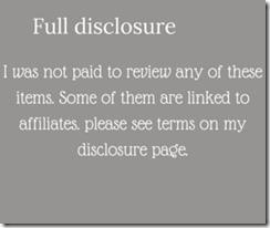 blog disclosure