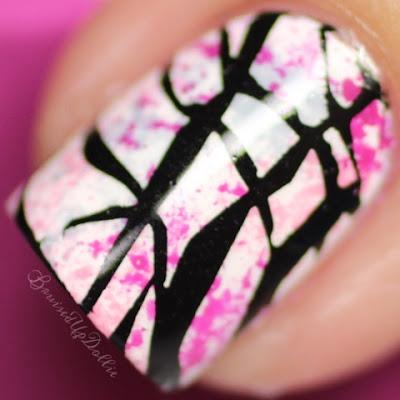 LadyQueen JQ-L19 nail art macro