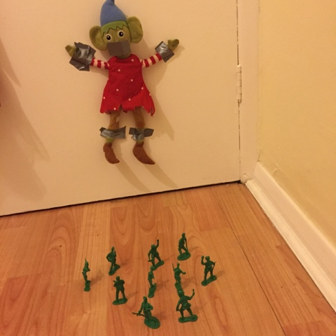 elf on the shelf army attack