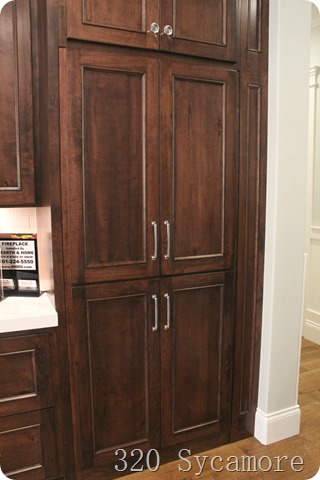 cabinet doors into pantry