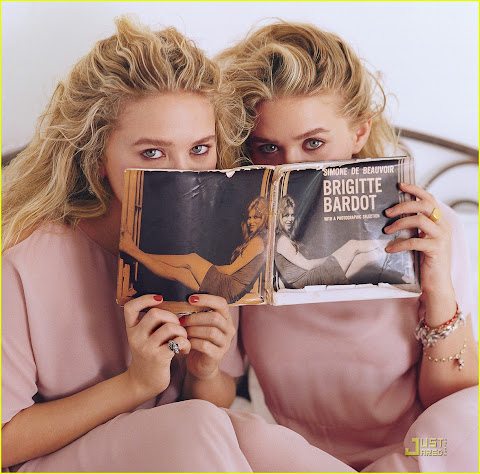 Mary-Kate & Ashley Olsen Vogue 2011 © by the Luxury Voids
