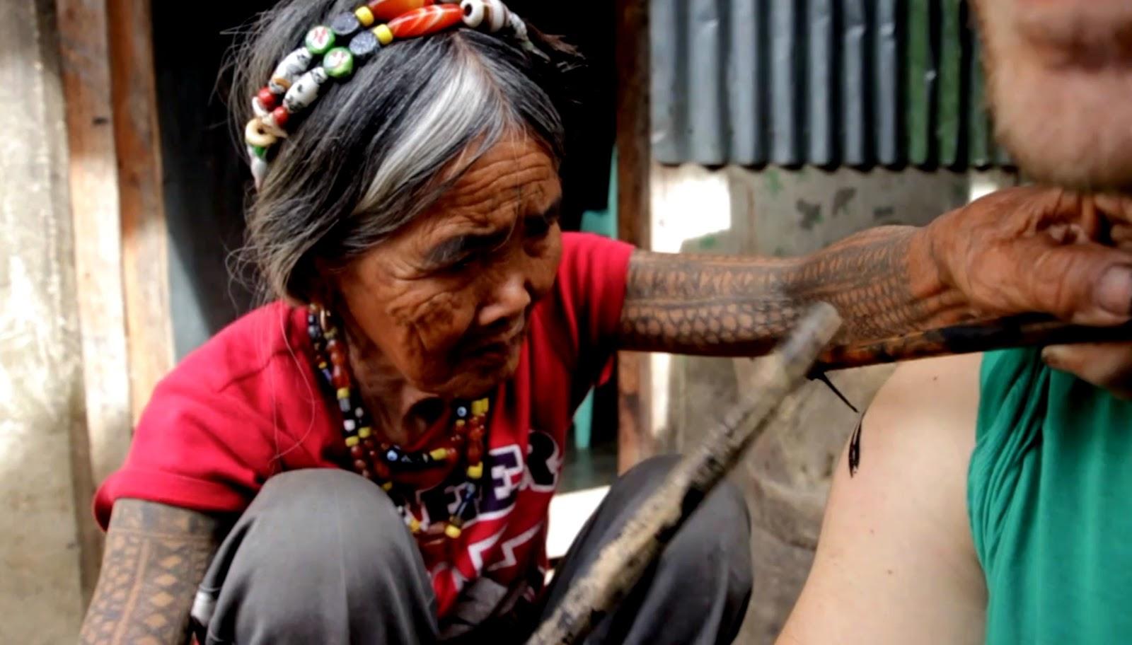 Whang Od The Kalinga Tattoo maker   PULP COLLECTORS