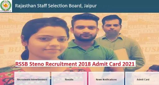 RSSB Steno Recruitment 2018