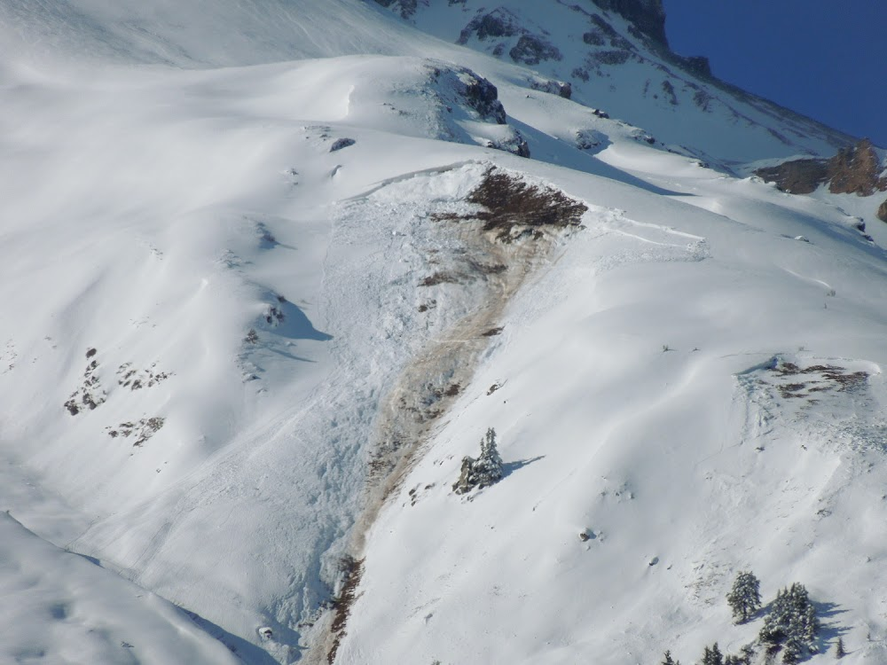 Avalanche Vanoise, secteur Dent Parrachée - Photo 1