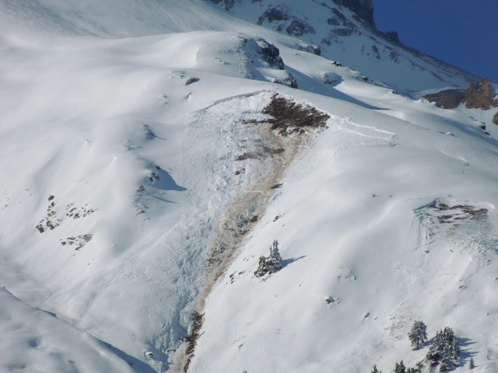 Avalanche Vanoise, secteur Dent Parrachée - Photo 1 - © Coubat Grégory