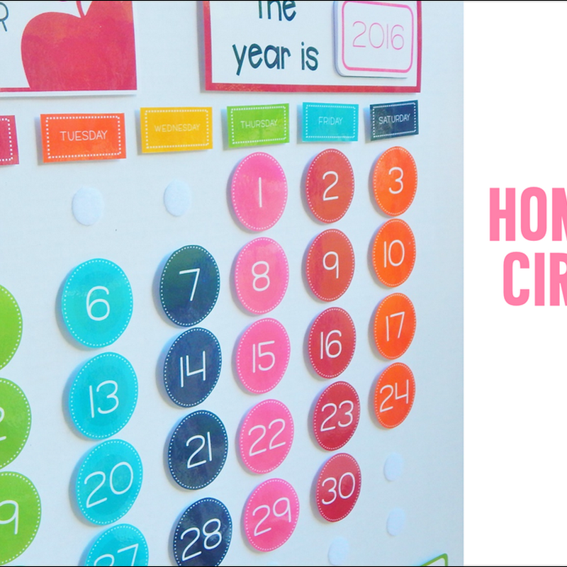 Our Homeschool Circle Time Board