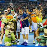 Caroline Wozniacki, Victoria Azarenka, Roger Federer, Milos Raonic, Novak Djokovic, Lleyton Hewitt - 2016 Australian Open -D3M_4234-2.jpg