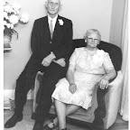 Emmitt Guill & Nova Zembla (Jenkins) Hagar 50th Wedding Celeb. ( Nova great granddaughter of Martha Ann Jenkins