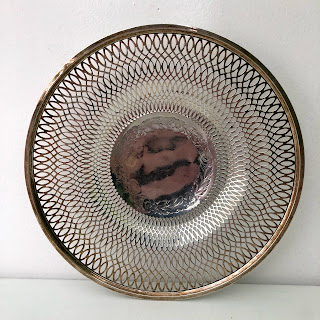 Sterling Silver Frank M. Whiting Pierced Dish