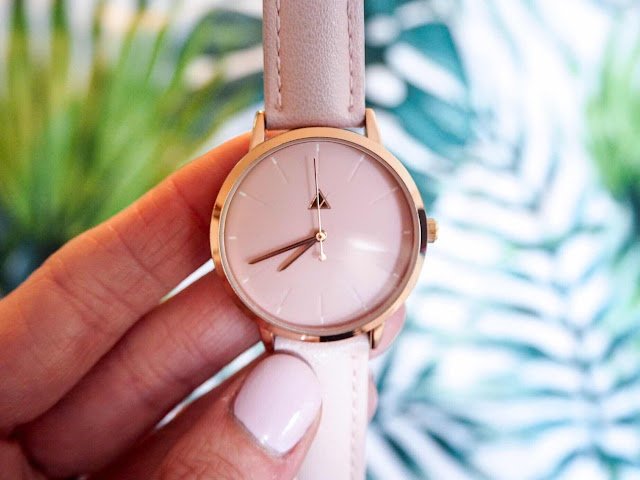 lifestyle-blog-monthly-favourites-asos-pink-rose-gold-debossed-marker-pink-tonal-watch-fashion-blog