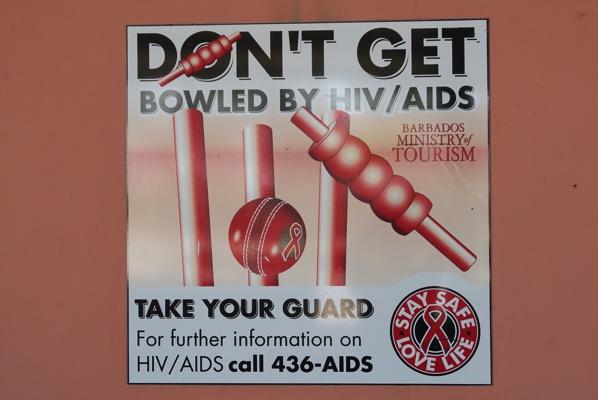 Advert Aids Cricket
