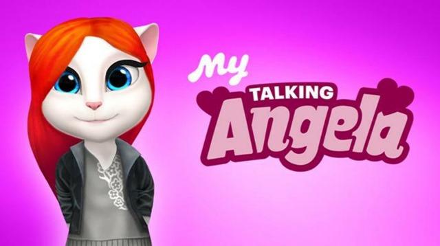 لعبة القطة المتكلمة My Talking Angela 2.5.1.57 للأندرويد