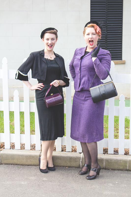 """What?? How can they be wearing the same colour outfits? Scandalous!"" 