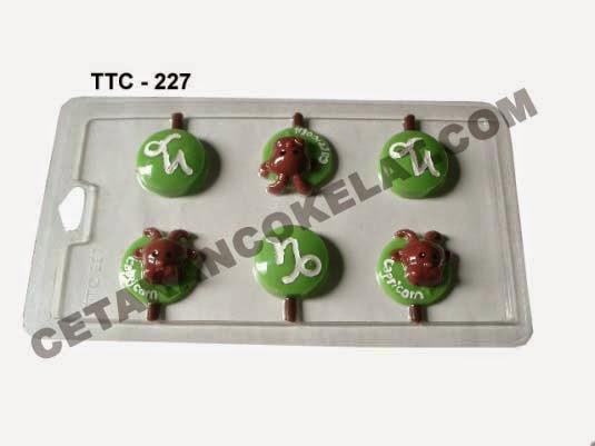 Cetakan Coklat TTC227 Zodiac Capricorn
