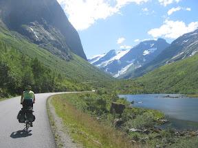 Norangsdalen på sykkel byr på flotte naturopplevelser
