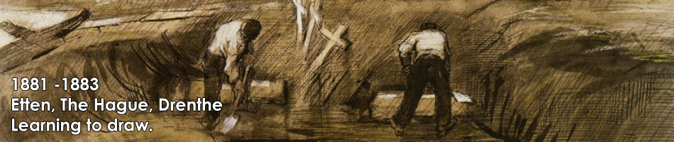 Vincent van Gogh Drawings from Etten and The Hague, 1881-1883