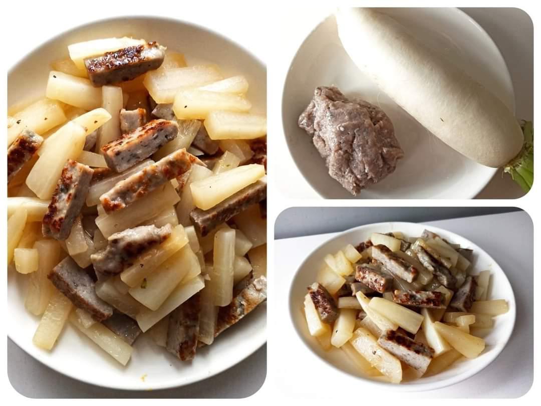 【食譜分享】簡單食譜!冬天岩食白蘿蔔炒魚鬆!