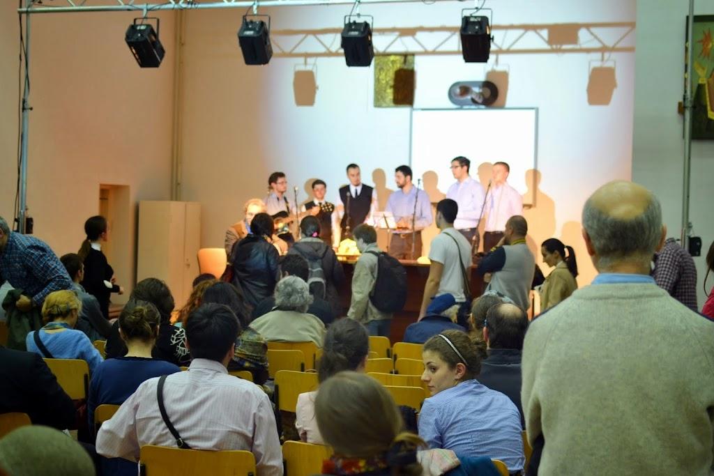 Conferinta Despre martiri cu Dan Puric, FTOUB 183