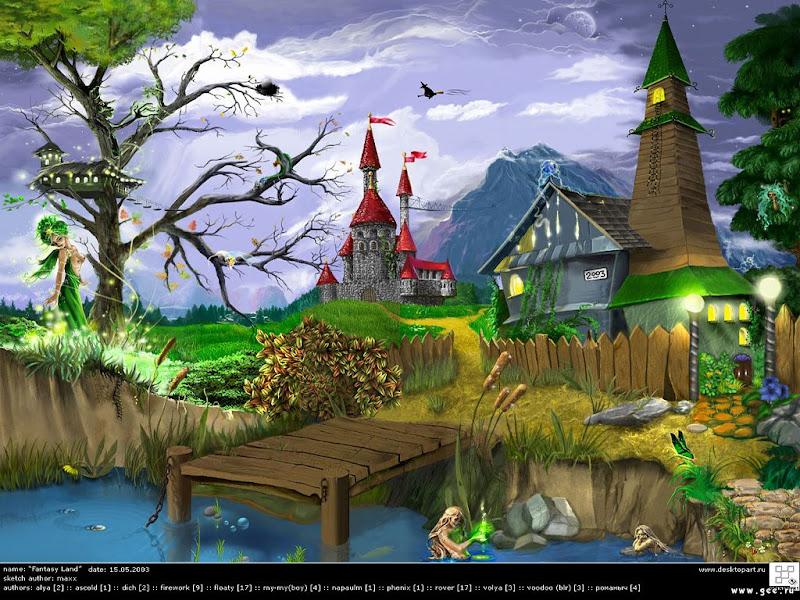 Magic Wicca Land, Magical Landscapes 2
