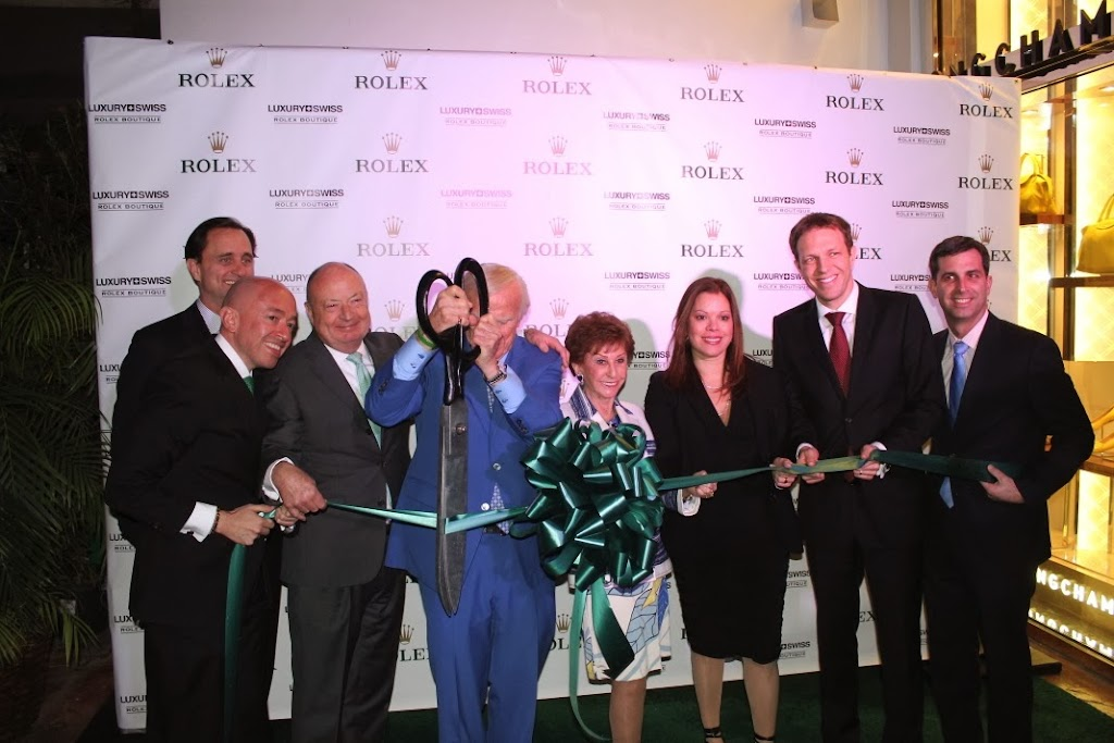 Rolex Miami Boutique Luxury Swiss LLC Ribbon Cutting 5