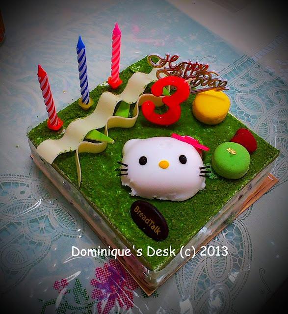Tiger girl's Hello Kitty Cake