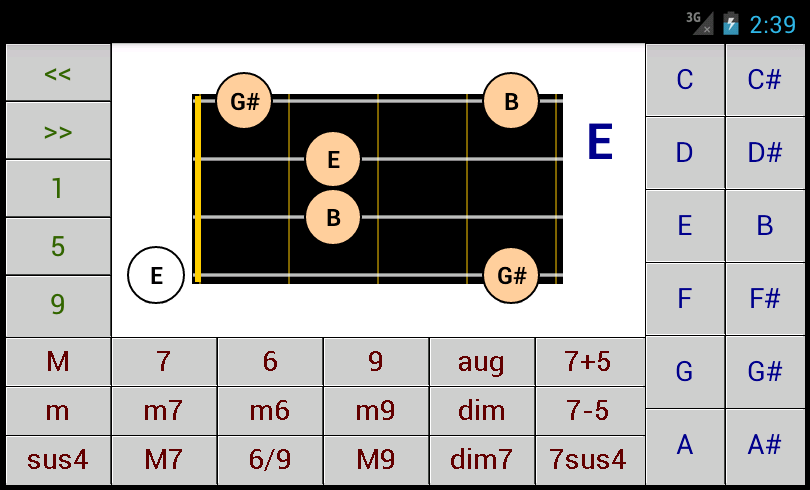 Dg Bass Chord Patterns Dg Android Applications