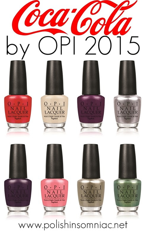 Opi Coca Cola Nail Polish Collection Partial: Jessika Barber