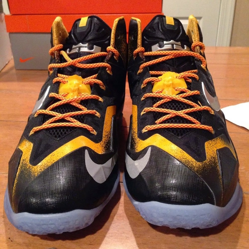 99f97535e037 Rare 8220Bumblebee8221 LeBron 11 Sample That Keeps Reappearing on eBay ...
