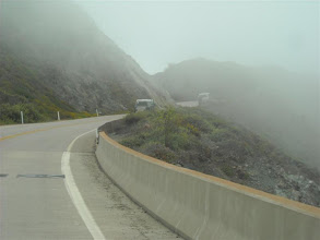 Photo: Heading into Gorda for gas before a day's drive