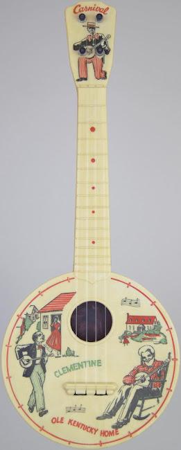 Carnival black americana Sopranino ukulele